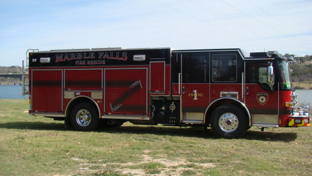 Engine One, a 750 gallon tank truck